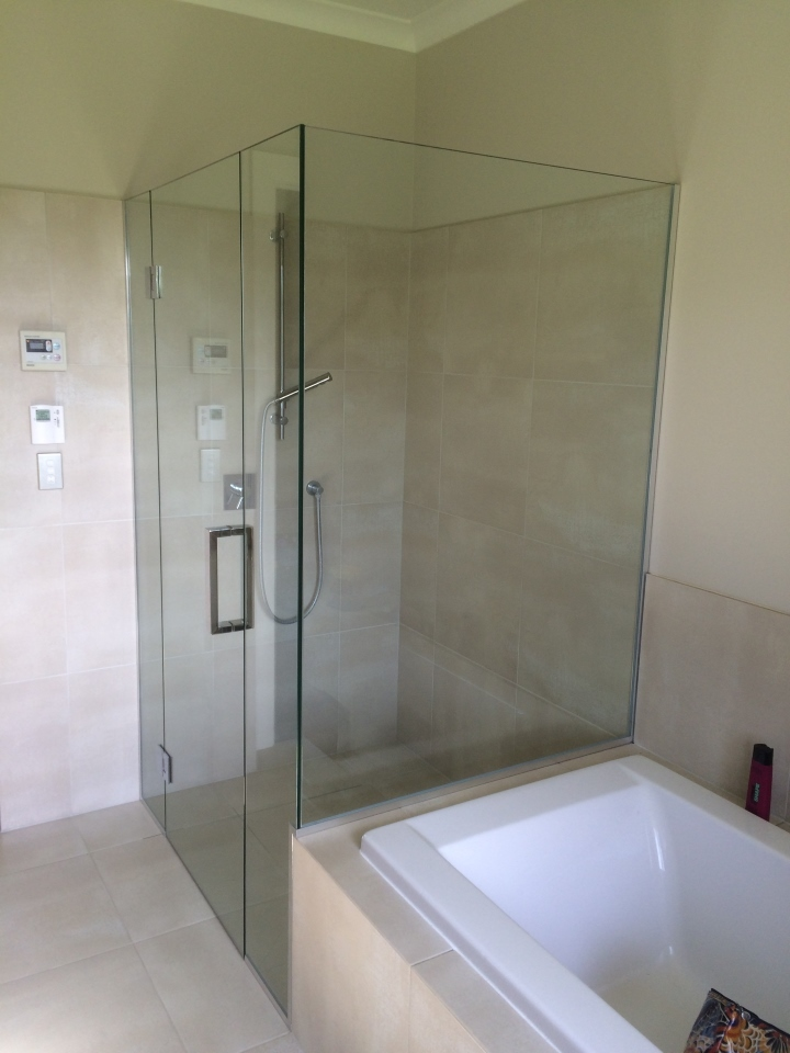 Shower Glass Cambridge  Frameless Glass Showers Waikato